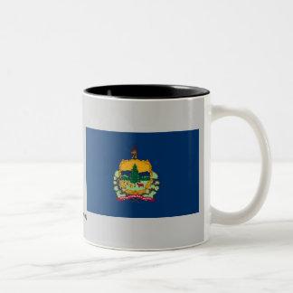 Vermont State Flag Two-Tone Mug