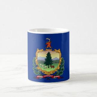 vermont state flag united america republic symbol basic white mug