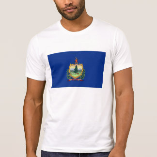 vermont state flag united america republic symbol tshirt