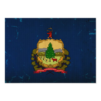 Vermont State Flag VINTAGE Invites