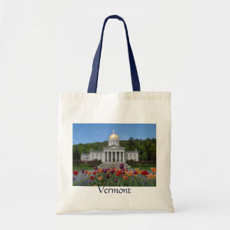 Vermont State House -Montpelier Budget Tote Bag