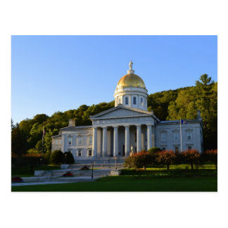 Vermont State House, Montpelier Postcard