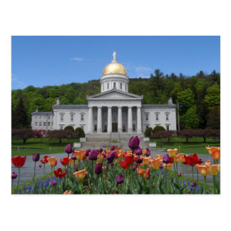 Vermont State House -Montpelier Postcard