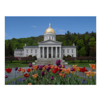 Vermont State House -Montpelier Poster