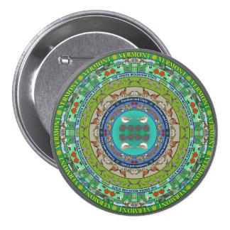 Vermont State Mandala Pin