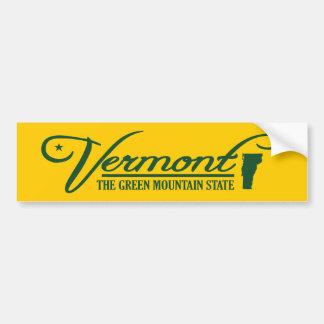 Vermont (State of Mine) Bumper Sticker