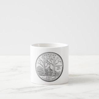 Vermont State Quarter Espresso Cups