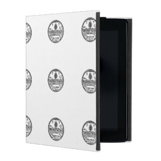 Vermont State Seal iPad Cover