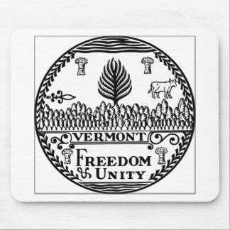 Vermont State Seal Mousepad