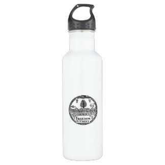 Vermont State Seal 710 Ml Water Bottle