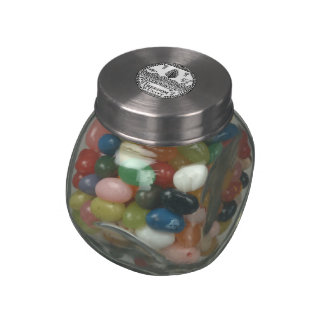 Vermont State Seal Jelly Belly Candy Jars