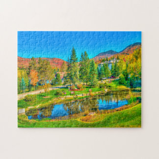 Vermont Stowe. Jigsaw Puzzle