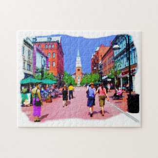 Vermont Street Painting Puzzles