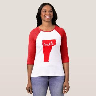 Vermont Teacher Tshirt (Red)