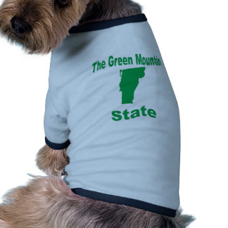 Vermont: The Green Mountain State Dog Shirt