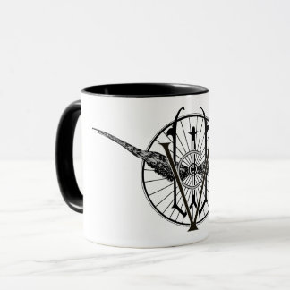 Vermont Wheel Club Logo Mug