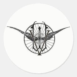 Vermont Wheel Club Logo Stickers