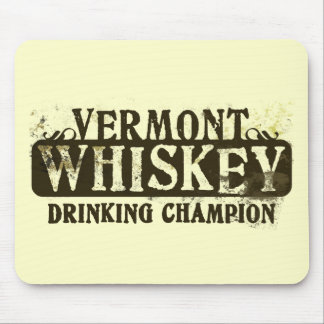 Vermont Whiskey Drinking Champion Mouse Mats
