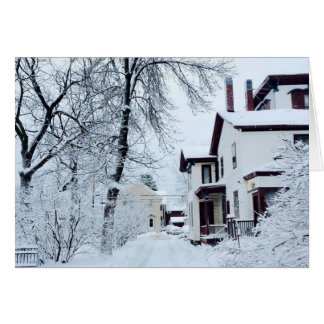 Vermont White Winter Greeting Card