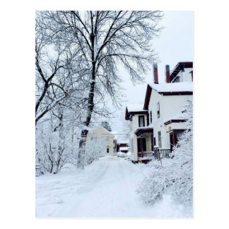 Vermont White Winter Postcard
