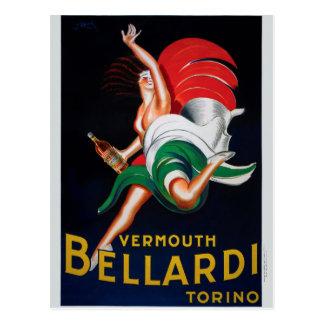Vermouth Bellardi Torino Postcard
