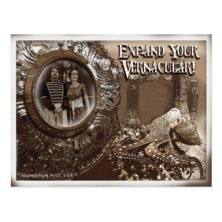 Vernacular postcard