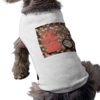Vernal Equinox Hare - collage Sleeveless Dog Shirt