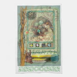 Vernal Equinox Kitchen Towel