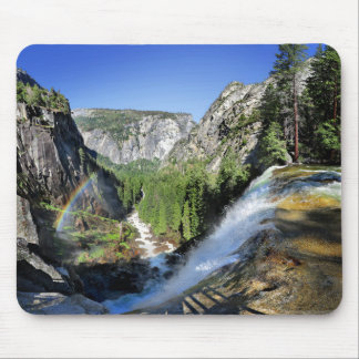 Vernal Fall from the Top - Yosemite Mouse Pad