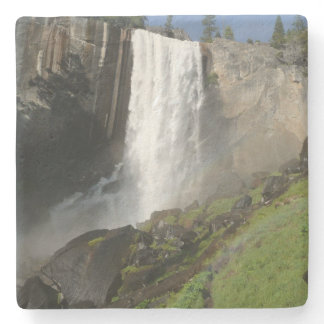 Vernal Falls I in Yosemite National Park Stone Beverage Coaster
