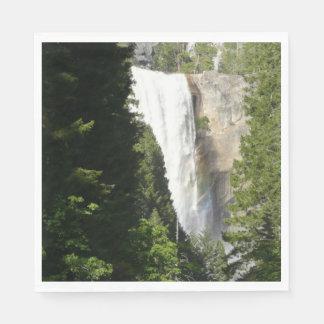 Vernal Falls II in Yosemite National Park Paper Napkin