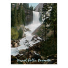 Vernal Falls Vintage Yosemite Postcard