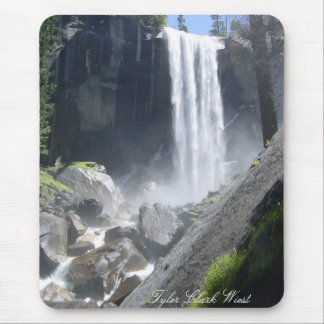 Vernal Falls, Yosemite California Mouse Pad