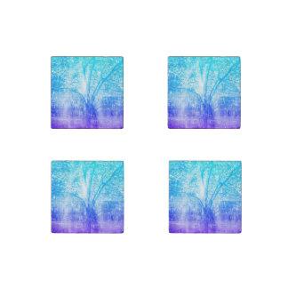 Vernal Tree Stone Magnet