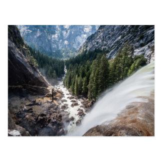 Vernall Fall and Mist Trail Postcard