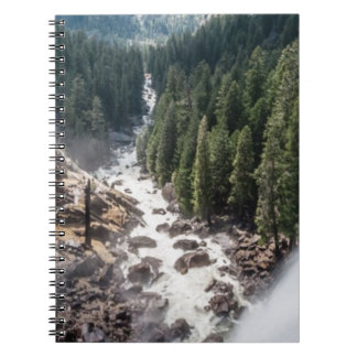 Vernall Fall and Mist Trail Spiral Notebook