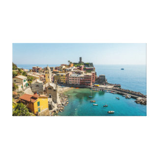 Vernazza and its Gorgeous Harbor Canvas Print