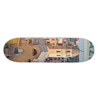 Vernazza black skateboard decks