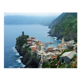 Vernazza Cinqua Terra Postcard