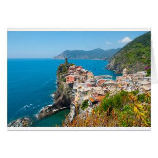 Vernazza Cinque Terre Italy Card