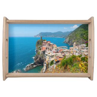 Vernazza Cinque Terre Italy Serving Tray
