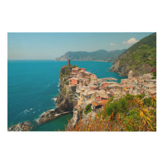 Vernazza Cinque Terre Italy Wood Wall Decor