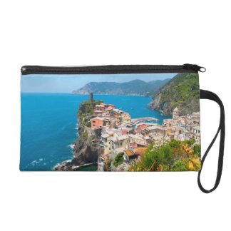 Vernazza Cinque Terre Italy Wristlet Clutch
