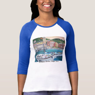 Vernazza Harbor Shirt