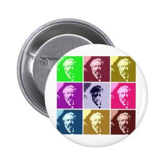 Verne PopArt Pinback Button