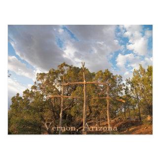 Vernon, Arizona Postcard