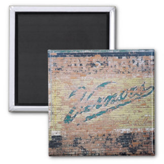Vernors ghost ad square magnet