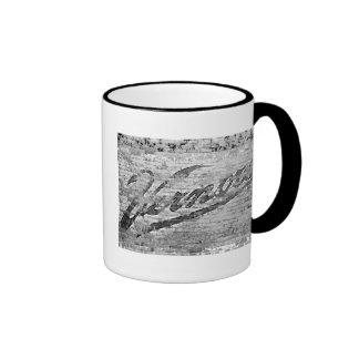 Vernors Wall Ann Arbor, Michigan Ringer Mug