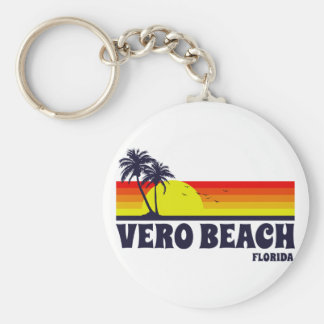 Vero Beach Florida Key Ring