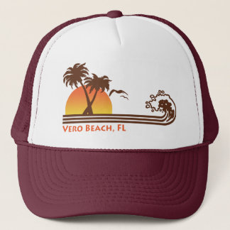 Vero Beach Florida Trucker Hat